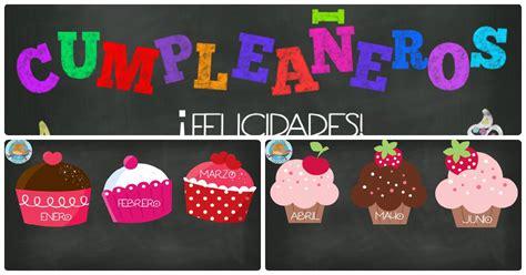 tarjetas de cumplea os para ni as carteles didácticos para los cumpleaños español e inglés