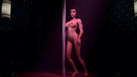 rule 34 3d animated ass bioshock bioshock infinite black hair bouncing breasts breasts burial
