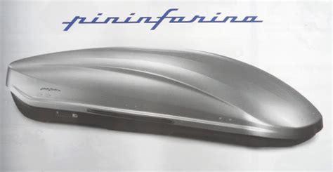 coffre de toit pininfarina la gazette automobile le coffre de toit pininfarina norauto