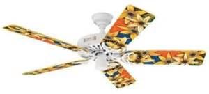 replacement fan blades arms hunter sawyer art sunflower