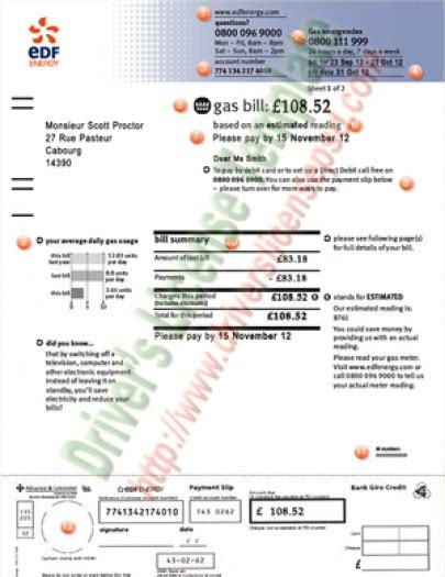 utility bill template free drivers license drivers license drivers license psd utility bills