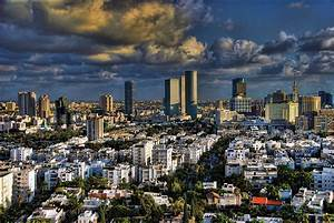 Tel Aviv Skyline Fascination Photograph by Ron Shoshani