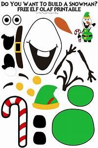 Do You Want To Build A Snowman Elf Olaf Edition