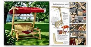 DIY Garden Swing • WoodArchivist