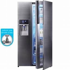 Frigo Americain Largeur 80 Cm : frigo americain encastrable topiwall ~ Melissatoandfro.com Idées de Décoration