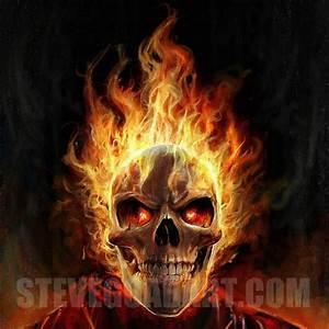 Flaming Skull Wallpapers - WallpaperSafari