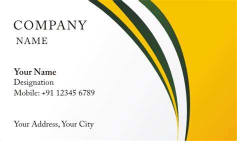 beautiful visiting card design templet  vector
