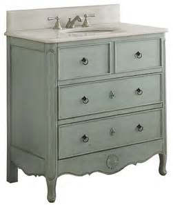 36 quot antique style white bathroom vanity shabby chic