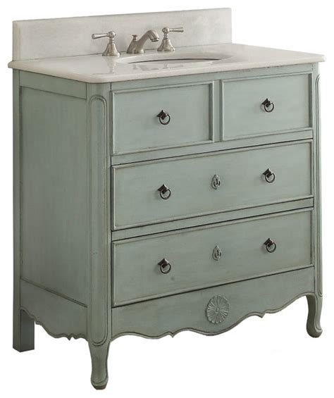 shabby chic white bathroom vanity 36 quot antique style white bathroom vanity shabby chic