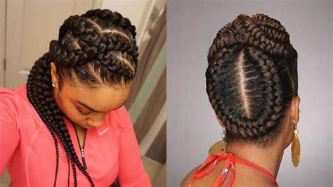 african american braided hairstyles  women
