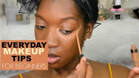 Beginners Make Up Tips How To Apply Concealer And