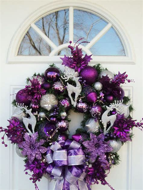 purple christmas decorations 35 breathtaking purple decorations ideas all about