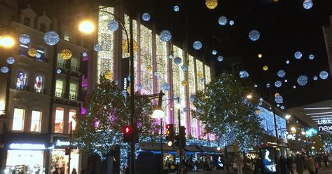 travel tales london west end christmas lights