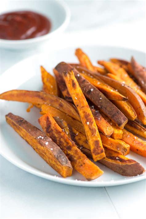 simple sweet potato recipe easy homemade baked sweet potato fries recipe