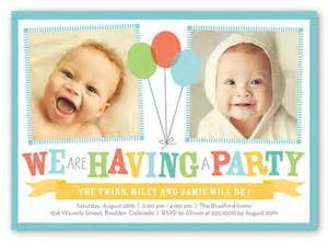 shutterfly wedding invitations bright balloons 5x7 invitation birthday invitations shutterfly