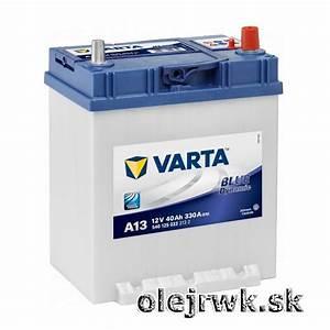 Varta Blue Dynamic 44ah : autobat rie varta blue dynamic a13 12v 40ah rwk unit e ~ Kayakingforconservation.com Haus und Dekorationen