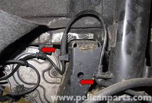 Mini Cooper R56 Abs Wheel Speed Sensor Replacement  2007