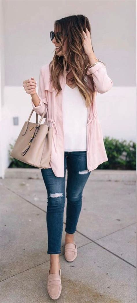 Best 25+ Pink jacket ideas on Pinterest | 2017 fashion trends spring summer Blush pink outfit ...