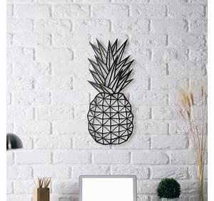 Deco Murale Industrielle : d coration m tallique ananas artwall and co ~ Teatrodelosmanantiales.com Idées de Décoration