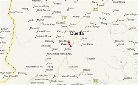 quetta  karachi map