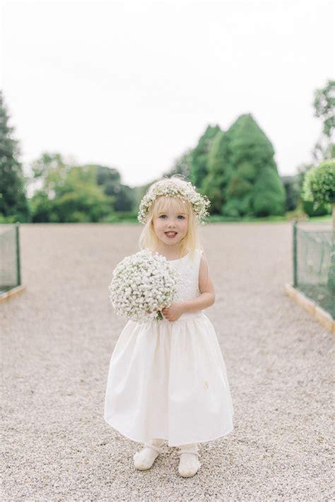 outdoor wedding  lyn ashworth gown kids