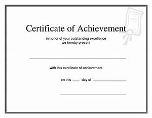 junior achievement certificate template 28 images With certificate of attainment template