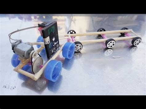 How To Make Electric Car by How To Make Electric Car Using Dc Motor That Can Run