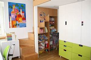 Ikea Kinderzimmer Regal : umbau kinderzimmer einbau 2 ebene treppe regal ikea stuva kinderzimmer pinterest ikea ~ Markanthonyermac.com Haus und Dekorationen