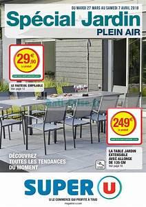 Table De Jardin Super U : emejing fauteuil de jardin super u contemporary design ~ Dailycaller-alerts.com Idées de Décoration