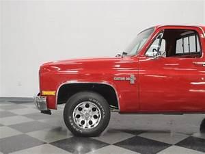 1981 Chevrolet C10 51833 Miles Red Pickup Truck 350 V8