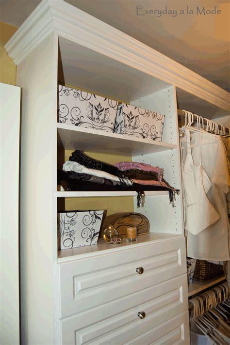 master closet redo everyday a la mode diy show