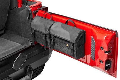 jeep tailgate storage bestop 54136 35 bestop roughrider soft storage tailgate