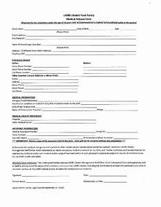 Medical Release Form For Child Free Printable Documents