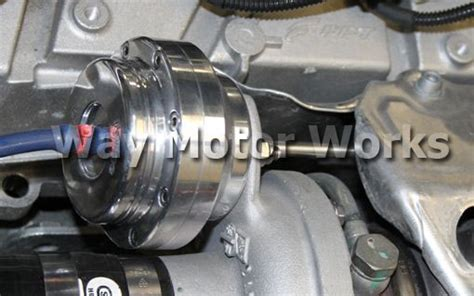 forge fiat abarth turbo actuator  motor works