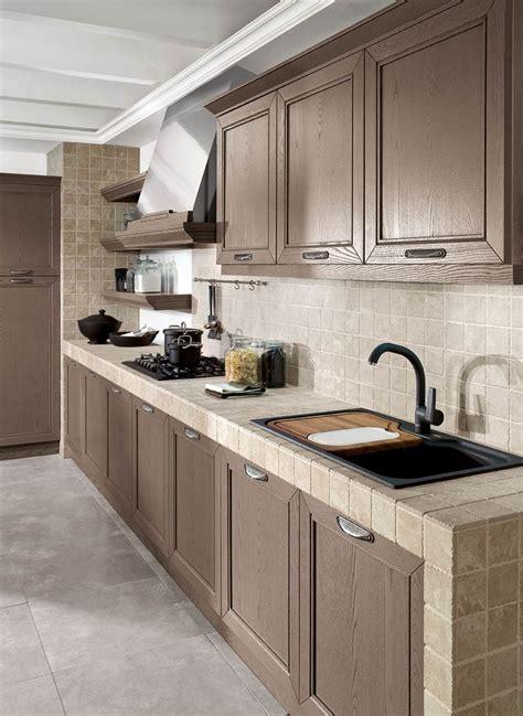 piastrelle x cucina in muratura cucina in muratura 70 idee per cucine moderne rustiche
