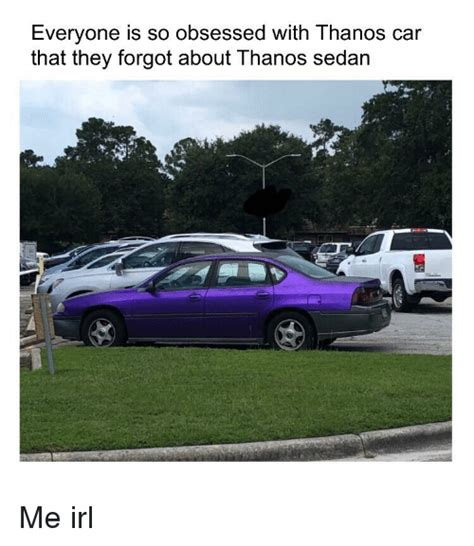 Everyone Is So Obsessed With Thanos Car That They Forgot