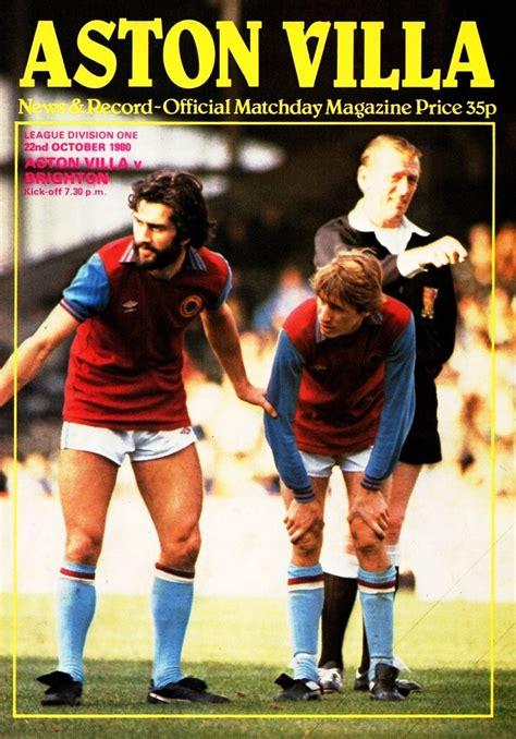 Aston Villa vs Brighton & Hove Albion - 1980   Flickr