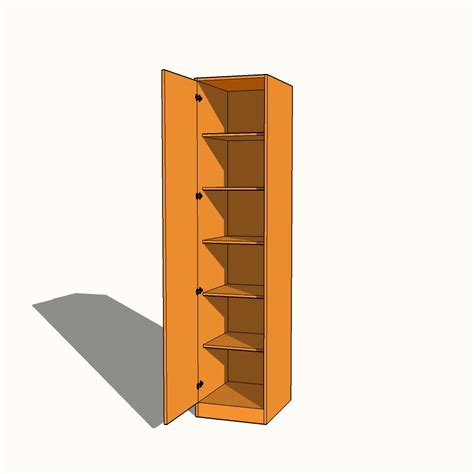 Wardrobe With Shelves Only by Single Wardrobe Fully Shelved Fixed Shelves 600mm
