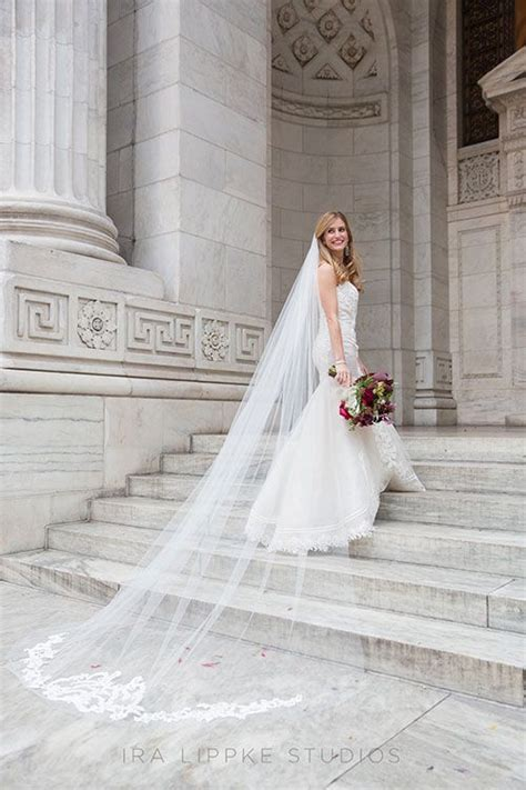 A Romantic Fall Wedding At The New York Public Library