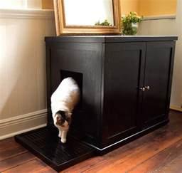 cat furniture litter box refined feline wooden litter box cabinet the green