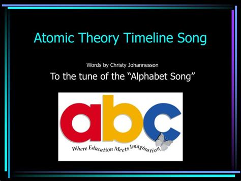 Ppt Atomic Theory Timeline Song Powerpoint Presentation