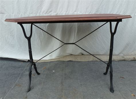 table bistrot aluminium table bistrot