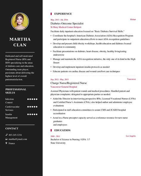 nurse resume sample latest resume   resume