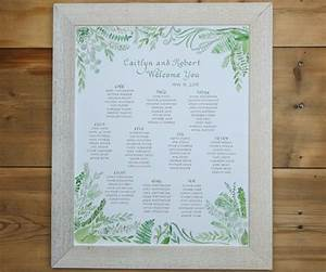 Sand Harbor Seating Chart Wedding Seating Charts El 39 S Cards