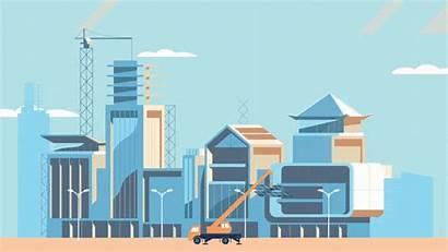 Smart Cities Animation Build Asean
