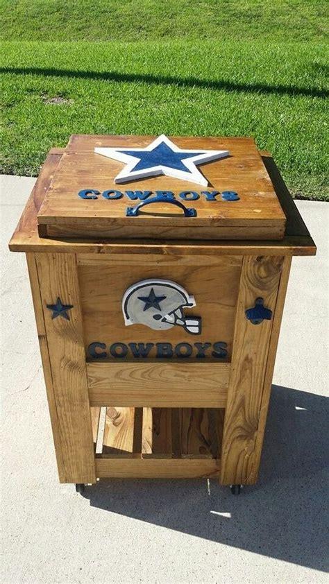 dallas cowboys ice chest  elaine seahawks pinterest cowboys dallas  dallas cowboys