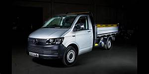Volkswagen Transporter gets tippy truck conversion, and