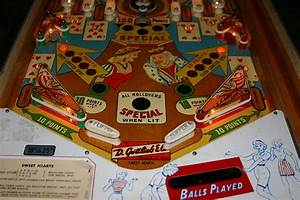 1963 Gottlieb Sweet Hearts Pinball Machine