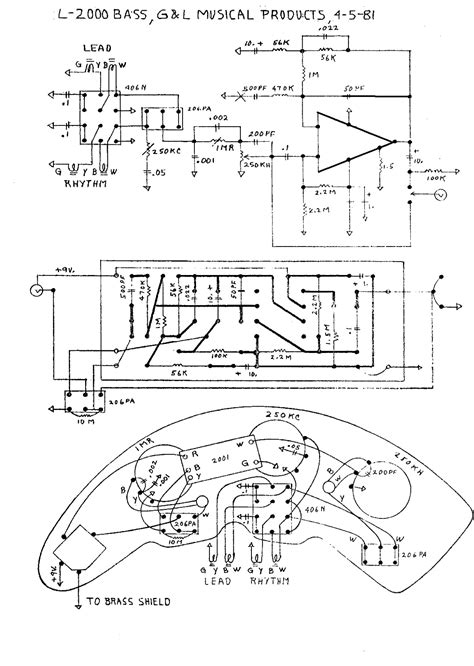 Schematic And Wiring Diagram by G L Wiring Diagrams And Schematics