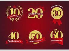Anniversary Logos Vector Download Free Vector Art, Stock